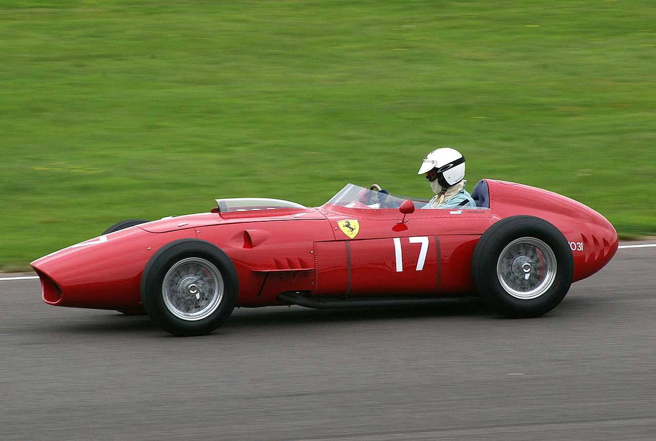 Old Ferrari Race Car For Sale