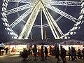 Ferris wheel in Paris, 16 February 2012.jpg