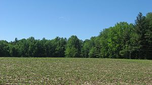 National Register of Historic Places listings in LaPorte County, Indiana - Image: Field at the Ames Family Homestead