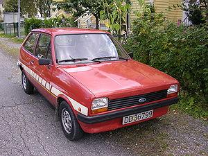 Ford of Europe - 1981 Ford Fiesta MK1