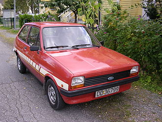 Ford of Europe - 1981 Ford Fiesta MK1