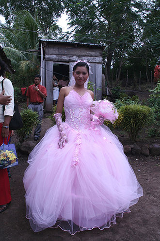 Girl - Quinceañera in Nicaragua