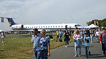 File-Belgian Air Component Embraer ERJ 145 (CE-04) at Radom Air Show.jpg