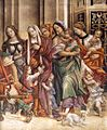Filippino Lippi - St John the Evangelist Resuscitating Druisana (detail) - WGA13150.jpg