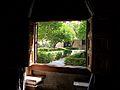 Finestra cap al jardí, Llotja de València.JPG