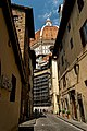 Firenze - Florence - Via dello Studio - View North towards il Duomo.jpg