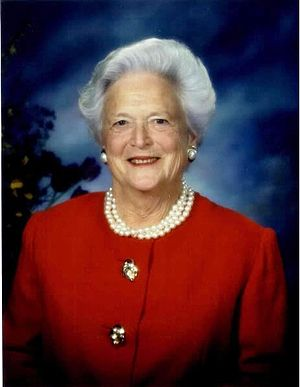 English: Barbara Bush Post Presidential Portrait