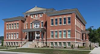 A. C. Lyons - First Ward School, Elkins, 1907.