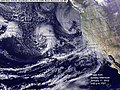 First Wave of January 2010 El Nino Storms, on Sunday, January 17.jpg