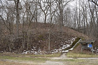 National Register of Historic Places listings in Allamakee County, Iowa - Image: Fish Farm Mounds State Preserve