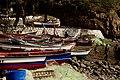 Fisherman boats on a beach in Cidade Velha, Cape Verde.jpg