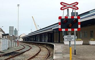 Fishguard - Fishguard Harbour railway station