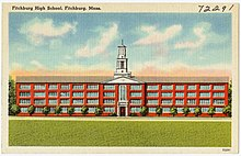 Fitchburg High School, Fitchburg, Mass (72291).jpg