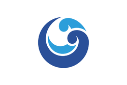 Flag of Okinoshima, Shimane.png