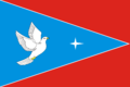 Flag of Shkolnoe (Crimea).png