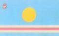 Flag of Toktogul rayon.png