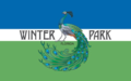 Flagge von Winter Park