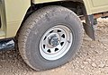 Flat tyre on Off-road vehicle, Namib Desert.jpg