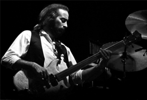 John McVie - John McVie in Zürich (1980). Photograph by Ueli Frey.