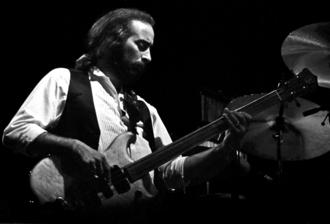 John McVie - John McVie in Zürich (1980). Photograph by Ueli Frey.