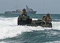 Flickr - Official U.S. Navy Imagery - Marines drive their amphibious assault vehicles toward Hat Yao Beach..jpg
