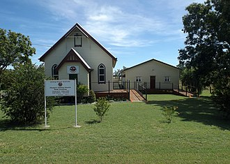 Peak Crossing, Queensland - Flinders Uniting Church, 2015
