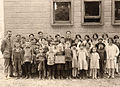 Flinton (Tin) School 1929 (15467509599).jpg