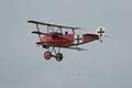 Fokker Dr.I Manfred Richthofen Last Pass 07 Dawn Patrol NMUSAF 26Sept09 (14597967284).jpg