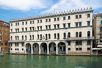 1500s in architecture - Fondaco dei Tedeschi on Grand Canal (Venice) by Giocondo