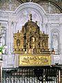 Fontevraud-l'Abbaye, Saint-Michel, Tabernakelaufsatz.jpg