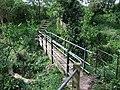 Footbridge near Hatton Rock - geograph.org.uk - 1293911.jpg