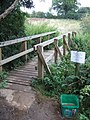 Footbridge on the Greensand Way - geograph.org.uk - 529897.jpg