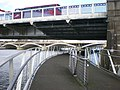 Footbridge under Chelsea Bridge - geograph.org.uk - 1573595.jpg
