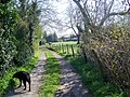 Footpath, Upper Woodford - geograph.org.uk - 757065.jpg