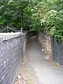 Footpath - Huddersfield Road - geograph.org.uk - 1439049.jpg