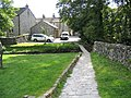 Footpath and footbridge over Malham Beck - geograph.org.uk - 629533.jpg