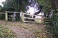 Footpath junction near Pratt's Bottom - geograph.org.uk - 1575535.jpg