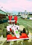 Footwork FA14 in the pitlane at the 1993 British Grand Prix (33645931566).jpg