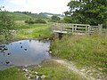 Ford and footbridge over the Afon Rhiw - geograph.org.uk - 900036.jpg