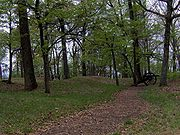 The site of Fort Dickerson in South Knoxville