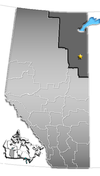 Fort McMurray, Alberta Location