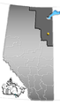 Fort McMurray, Alberta Location.png