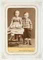 Fotografiporträtt på barnen Kayser - Hallwylska museet - 107824.tif