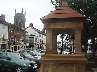 East Grinstead - Image: Fountain East Grinstead