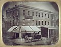 Fourth and Olive Streets, northwest corner. Burritt's Gallery.jpg