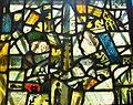 Fragments of medieval glass, Staplehurst.JPG