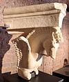 Frammento di capitello con cavalli alati, dall'interno della cella del tempio di marte ultore nel foro di augusto, 2 ac ca. 01.JPG
