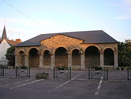 Covered market