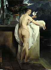 Francesco Hayez, The Ballerina Carlotta Chabert as Venus (1830)