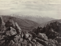 Francis Frith, Mount Hermon, 1855–98, Albumen silver print, 15.6 x 20.7 cm, MoMA, 183.1972.png